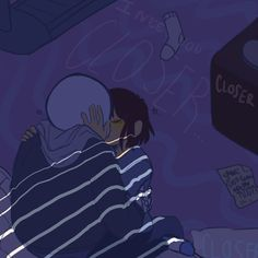 """""""I Need You Closer"""" by Hakubaka on Deviantart. I do NOT ship these two, (I can't ship Frisk with anyone even in spite of all of their flirting) but that doesn't mean I can't appreciate good art!"""
