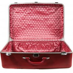Vintage Amelia Earhardt Red Suitcase @ Pigment