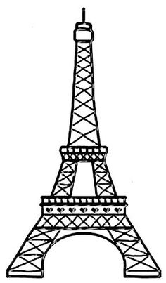 Wondering where to find free clipart for your website or offline project? Search for over clipart graphics by independent creators. Get your clipart for presentation. Torre Effiel, Paris Torre Eiffel, Paris Birthday Parties, Paris Party, Thema Paris, Eiffel Tower Drawing, Eiffel Tower Cake, Paris Clipart, Paris Themed Cakes