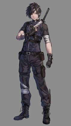 Read Bio from the story ABUSED BROKEN Rose X Male Reader RWBY by kuejonathan (JonnyQ) with reads. Fantasy Character Design, Character Design Inspiration, Character Art, Anime Hairstyles Male, Anime Hair Male, Ninja Outfit, Kleidung Design, Badass Outfit, Hero Costumes