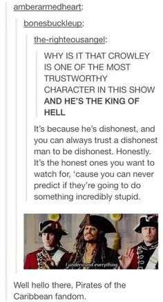 Usually Supernatural is the fandom hijacking posts... Seems fitting another would jump into a post about #Supernatural
