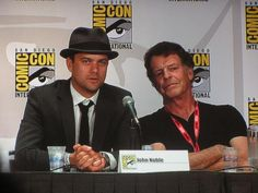 The #Fringe panel at sdcc2011. Found on Twitter.