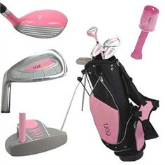 Golf Clubs Women Golf Girl Lefty Junior Golf Clubs - These kids golf clubs offer a lot of benefits such as increasing gaming performance and preventing bad habits from forming. Kids Golf Clubs, Junior Golf Clubs, Ladies Golf Clubs, Best Golf Clubs, Girls Golf, Sports Clubs, Golf Card Game, Dubai Golf, Golf Club Sets