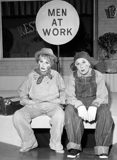 Lucy and Vivian ~ The Lucy Show 1964