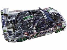automobile cutaways - Google Search
