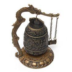 Cheap  Bel design cinese dettagli sulla drago retro lega eccellente tibet ha intagliato dragon buddha buddista campana decorazione  , Compro Qualità Metallo artigianato direttamente da fornitori della Cina:         Descrizione & #65306;     Eccellente tibet drago buddha campana         Materiale: lega          Color