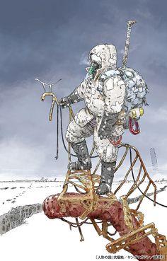 """Crunchyroll - Tsutomu Nihei Publishes One-Shot Science Fiction Manga """"Ningyou no Kuni"""""""