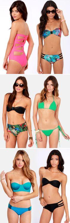 Swim Suits via lulus.com