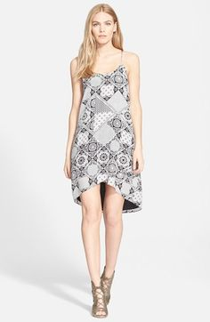 Joie 'Ondria' Silk Trapeze Dress available at #Nordstrom / available in red