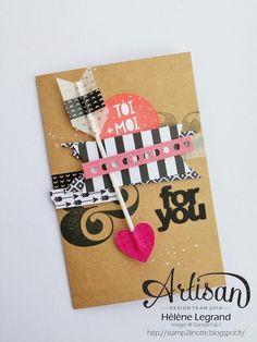 Un peu d'amour... - Stampin'Up ! Artisan Blog Hop - Janvier # 2
