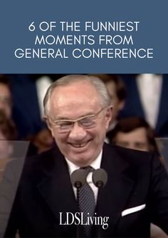 6 of the funniest moments from General Conference #ldsconf #sharegoodness