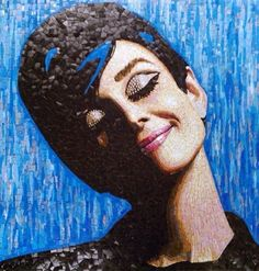 Mosaic Portrait, 3d Street Art, Mosaic Art, Photo Art, Disney Characters, Fictional Characters, Crafty, Disney Princess, Gallery