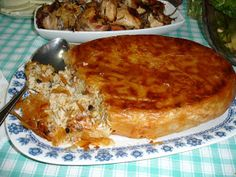 Food Decoration, Greek Recipes, Macaroni And Cheese, Rice, Cooking, Healthy, Ethnic Recipes, Desserts, Kitchen