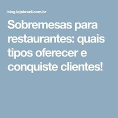 Sobremesas para restaurantes: quais tipos oferecer e conquiste clientes!