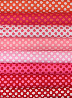 Ta Dot  Polka Dot  Fabric Bundle  by Michael Miller by spiceberrycottage, $37.25