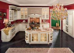 Кухня в английском стиле: интерьер без рационализации использования пространства (ч.2/3)
