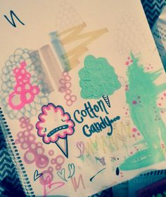 Cotton candy doodle by cotton cannibals