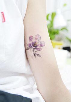 Purple Gentian flower by Banul