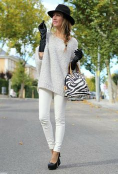Winter style for woman. #fashion