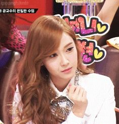Jessica SNSD. I make this face quite often.
