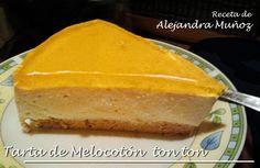 Tarta de Queso y Melocoton: Recetas Dukan