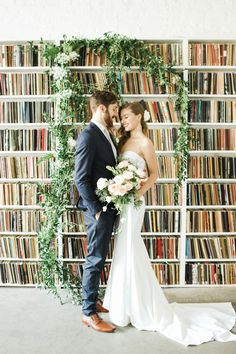 See Brooklyn Art Library, a unique New York City wedding venue. Find prices, detailed info, and photos for New York wedding reception locations. Brooklyn Wedding Venues, City Wedding Venues, Unique Wedding Venues, Unique Weddings, Wedding Ideas, Wedding Decor, Wedding Stuff, Classic Weddings, Wedding Planning