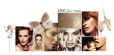 """glamour makeup"" by deveneey-nnman on Polyvore featuring mode"