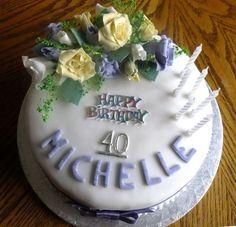 Idee per torte di compleanno per 40 anni