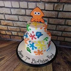 Image result for splatoon cakes