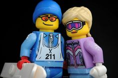 LEGO characters :) they were made for each other lol