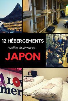 On vous propose aujourd'hui de découvrir nos 12 hébergements incontournables où dormir au #Japon : capsule hôtel, temple, ryokan, manga café, il y en a pour tous les gouts !