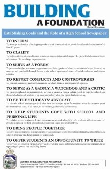 Journalism posters for high school newspapers!