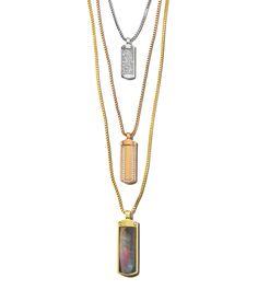 Starlet ID Triple Pendant Necklace | Products | Henri Bendel