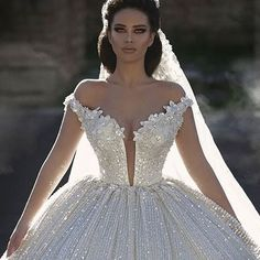 The epitome of a princess bride!!! :princess: . Glorious Gown Designed By @frida_xhoi // Model @endidemneri // Photography: @juxhinkurti . . . #sophisticatedbride #bellethemagazine #luxurybride #luxurywedding #bride #bridel #bridalstyle #weddingfashion #b