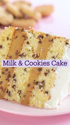 Köstliche Desserts, Delicious Desserts, Yummy Food, Amazing Dessert Recipes, Easy Healthy Desserts, Easy Desert Recipes, Healthy Cake Recipes, Easy To Make Desserts, Birthday Desserts