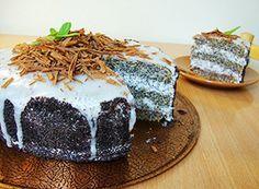 Makový dort na Adelajde.cz - Dorty pro radost Baking Cupcakes, Tiramisu, Pudding, Ethnic Recipes, Food, Essen, Puddings, Tiramisu Cake, Yemek
