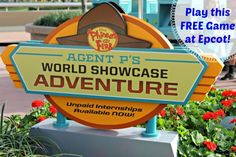 Agent P's World Showcase Adventure is a FREE game your family can play in Epcot!