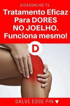 Tratamento para joelho | Tratamento Eficaz Para DORES NO JOELHO. Funciona mesmo!