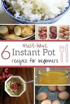 Do you have an Instant Pot? I'm a Instant Pot newbie and love these 6 Instant Pot Recipes for Beginners!
