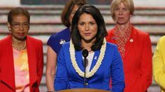 Last night, Hawaii not only elected Japan-born Mazie Hirono to be the first ever Asian-American woman elected to the Senate, they also elected Democrat Tulsi Gabbard as the first ever practicing Hindu to the US House of Representatives. Hawaii has been declared a Fox News Disaster Zone. She will swear in on a copy of the Bhagavad Gita.