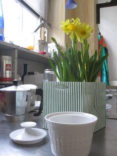 offene Küche im Atelier