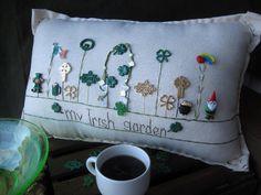 Mio cuscino giardino irlandese (stile Cottage)
