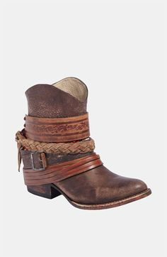 Women's Freebird by Steven 'Mezcal' Boot from Nordstrom. Saved to shoes. Shop more products from Nordstrom on Wanelo. Bootie Boots, Shoe Boots, Ankle Boots, Shoe Bag, Cowgirl Style, Cowgirl Boots, Western Boots, Cute Shoes, Me Too Shoes