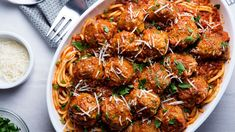 Wondering what to serve with meatballs—besides pasta & tomato sauce? Here's what to eat with meatballs instead of pasta. Check out 10 delicious options! Pasta Recipes, Dinner Recipes, Cooking Recipes, Epicurious Recipes, Top Recipes, Veal Recipes, Onion Recipes, Dinner Menu, Cooking Time
