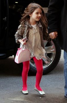 suri cruise because she tells her mom what to do.
