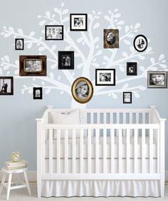 Look what I found on #zulily! White Family Tree Wall Decal by looksugar* #zulilyfinds