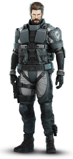 Ishikawa of Section 9   Ghost in the Shell: Stand Alone Complex - First Assault Online