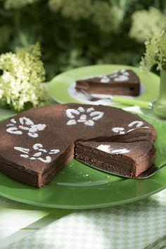 Schokopudding-Torte