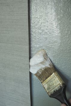 Installing Grasscloth wallpaper - also good for Unpasted wallpaper applications
