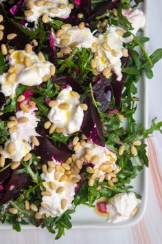 Roasted Beet and Burrata Salad  Giadzy Roasted Beets Recipe, Roasted Beet Salad, Beet Salad Recipes, Beet Recipes Healthy, Paleo Meals, Diet Meals, Diabetic Recipes, Burrata Salad, Burrata Cheese